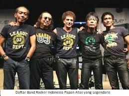 Daftar Band Rocker Indonesia Papan Atas yang Legendaris